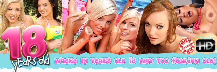 enter 18 Years Old members area here